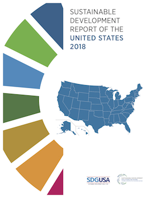 Sustainable Development Report of the United States 2018 cover