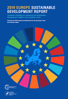 2019 Europe Sustainable Development Report cover