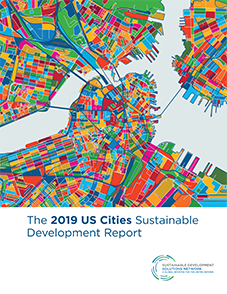 2019 US Cities Sustainable Development Report cover