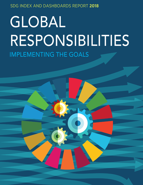 SDG Index and Dashboards 2018 cover