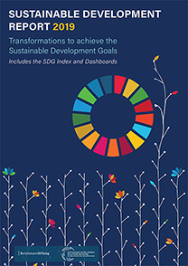 Sustainable Development Report 2019 cover